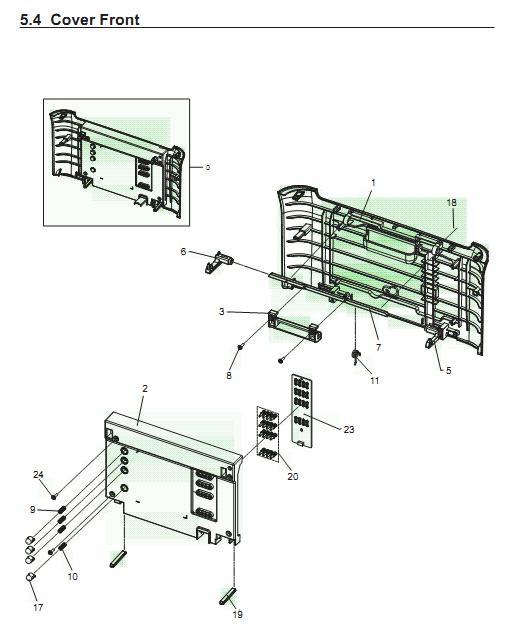 laser shutter linkage