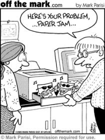 paper jam