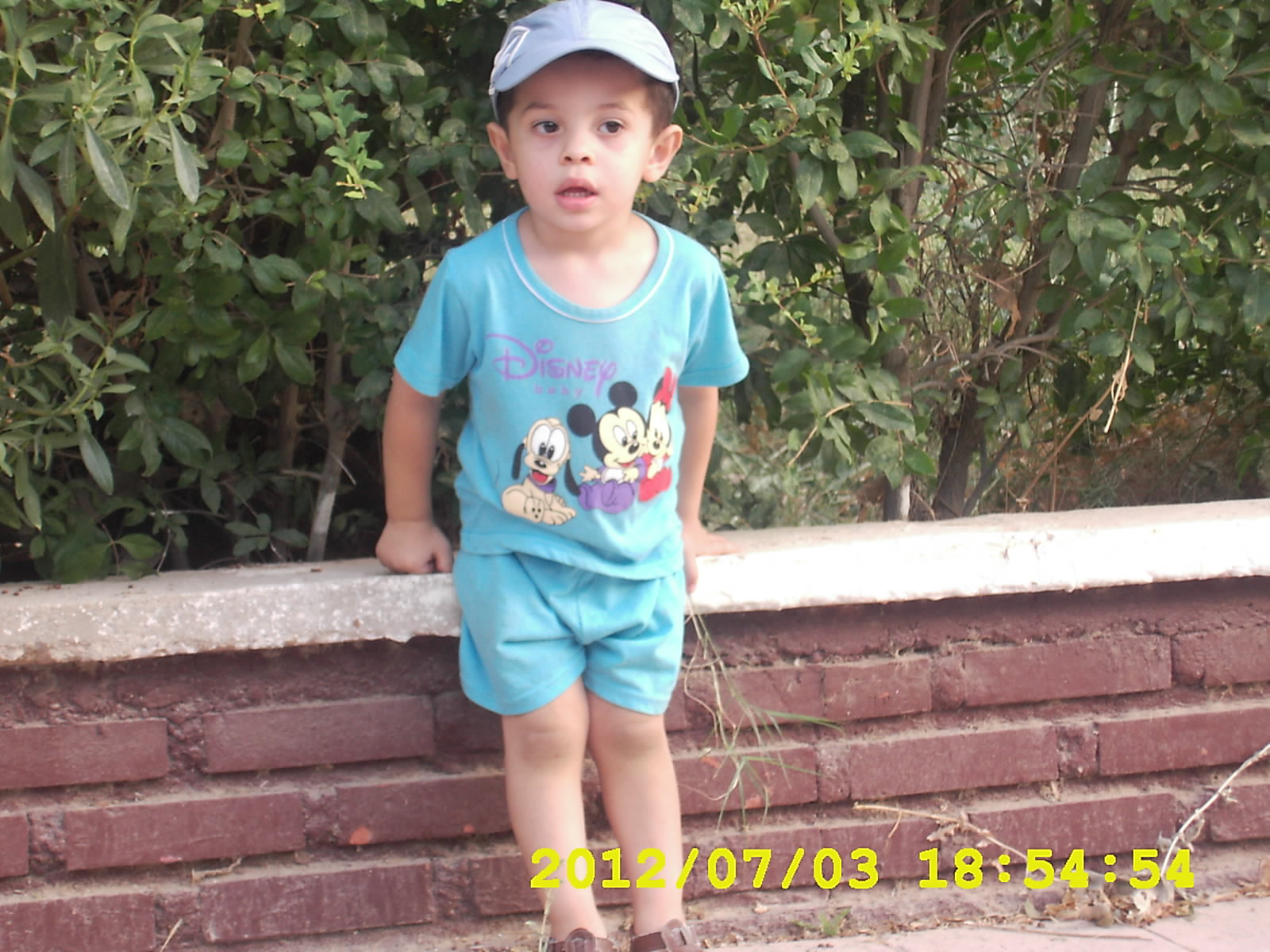 DSCI0002 My son Ahmed Tedj Eddine ..my heart is insider this bebe ...