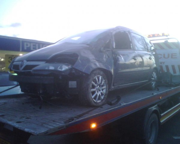 One dead Zafira