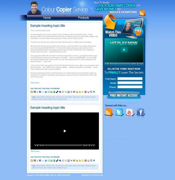 My Website Design