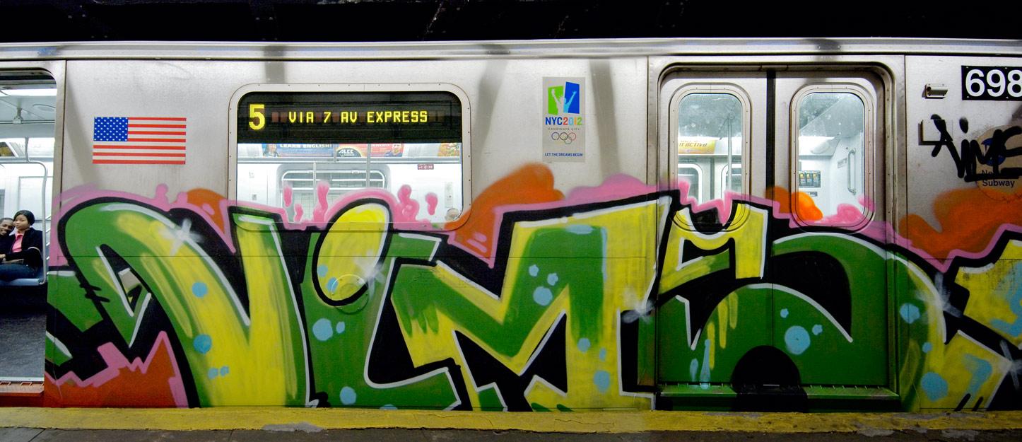 5 train pano
