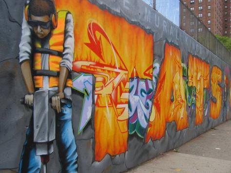 New York NY The Graffiti Hall of Fame